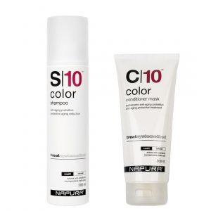 10 Color: подготовка и уход за окрашенными волосами